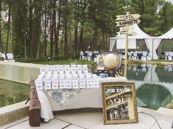 Original seating plan para boda #boda #wedding #decoracion #inspiracion