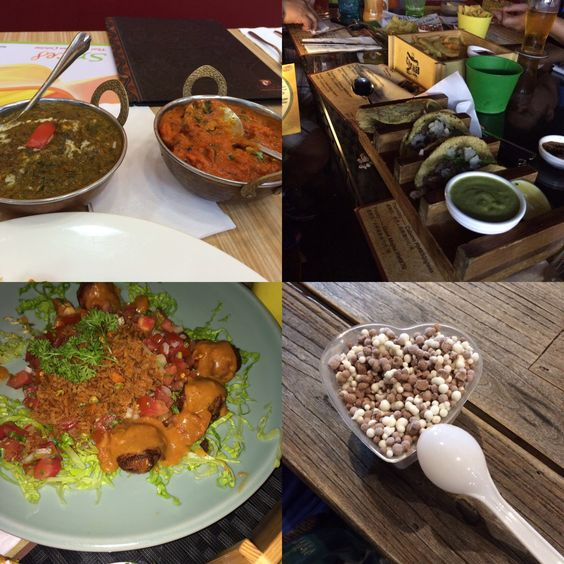 Amo comidas indianas , mexicana , coreanas , chinesa .... É por aí vai . Amo comer .