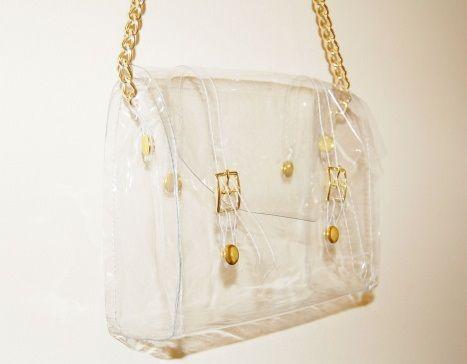 bolso transparente moda resultado