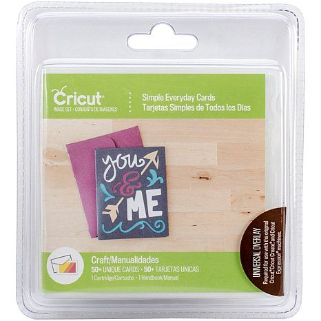 Cricut Card Cartridge - Simple Everyday Cards