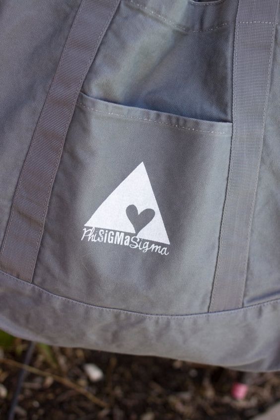 that logo is the one i thought about getting a tattoo of...just the pyramid: Tattoo Ideas, Logo, Sigma Bag, Tattoo S, Sig Tote, Large Tote, Sorority Thing, A Tattoo, Triangle Tattoos