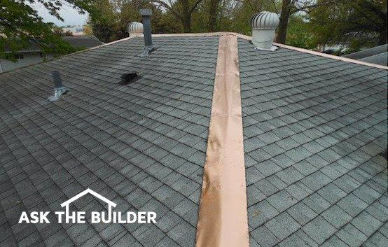 Copper Strips For Roof Moss Control In 2020 Copper Roof Roof Shingles Image House
