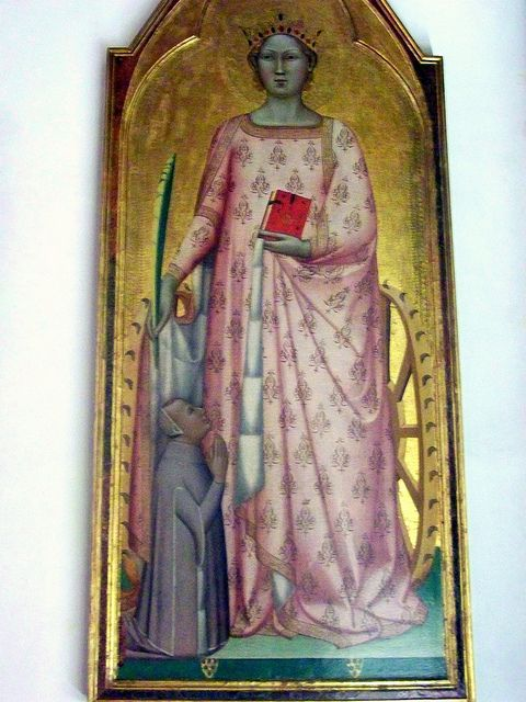 Bernardo Daddi, Sainte Catherine d'Alexandrie