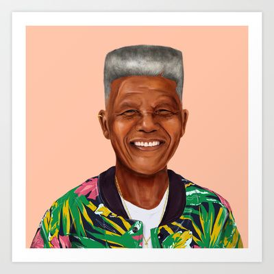 Buy Hipstory - Nelson Mandela by Amit Shimoni as a high quality Art Print. Worldwide shipping available at Society6.com. Just one of millions of products…