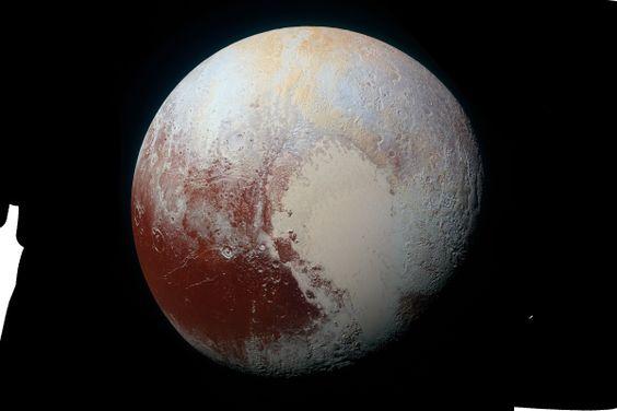 Esta es la mejor foto de Plutón que se ha tomado hasta ahora