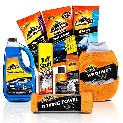 Armor All And Tuff Stuff New To You Used Car Cleaning Kit 8 Items Car Cleaning Kit