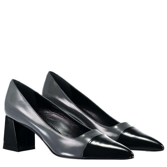 ROBERTO FESTA Zweifarbige Lederpumps ► Die Pumps von ROBERTO FESTA überzeugen mit hochwertiger Verarbeitung und angenehmen Tragekomfort, dank Fußbett aus reinem Leder. Das feminine Design wird durch die spitz zulaufende Silhouette und der farblich abgesetzten Schuhspitze gekonnt abgerundet. Eine stilvolle Ergänzung Ihrer Businesslooks.