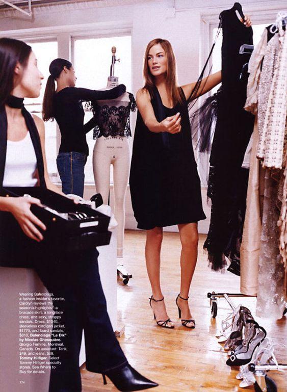 February 2002 Harper's Bazaar  Photography by Patrick Demarchelier   Styling by Brana Wolf