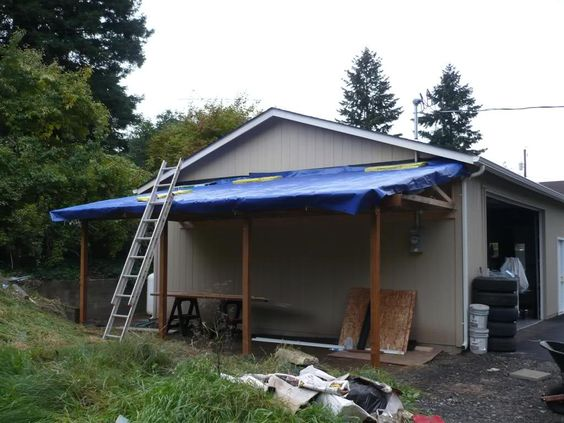Lean To Carport Build The Garage Journal Board