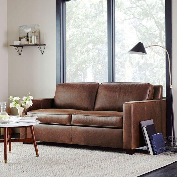 Bán sofa da thật tphcm với sofa da nhiều khối cho phòng khách nhỏ hẹp