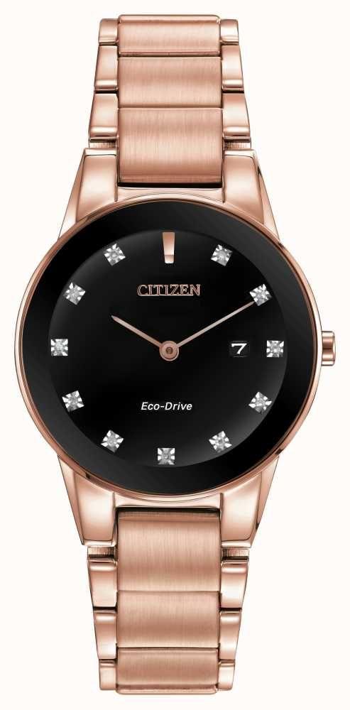 citizen watch women's rose gold
