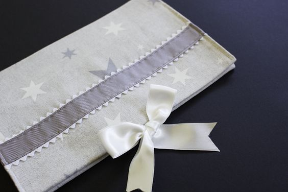 MbM: Funda para pañales y toallitas de estrellas