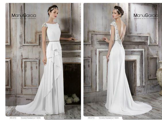 Vestidos de novia sencillos. Nueva Colección 2016