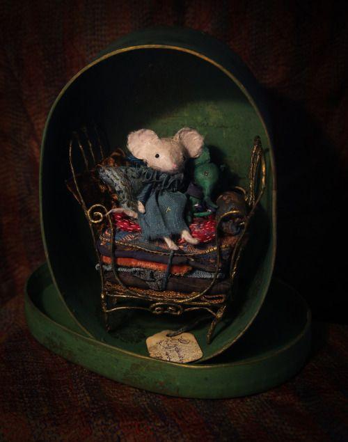 Une souris d'anniversaire, par MissClara