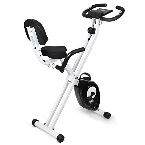 Intey Folding Exercise Bike F Bike With 16 Level Resistance Hand