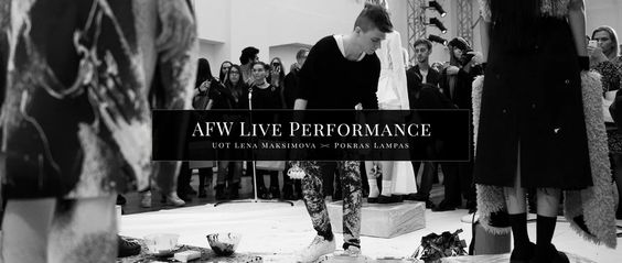 Abstract modern calligrafuturism performance by Pokras Lampas in collaboration with talented Lena Maksimova.  Showcasing new UOT fashion collection on Aurora Fashion…
