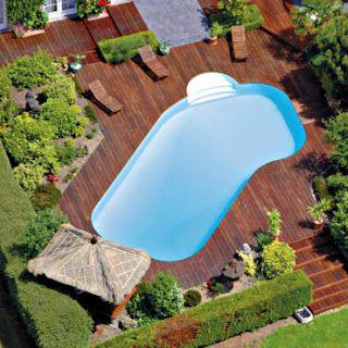 Modelos de piscinas peque as para bajos presupuestos y jardines peque os jard n y terrazas - Piscina para jardin ...