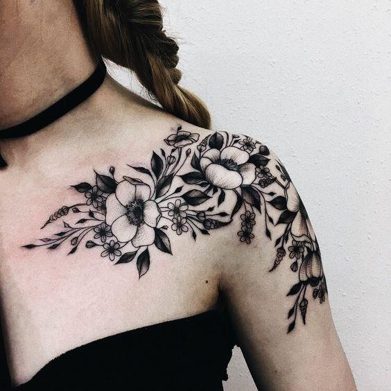 Tatuajes En Los Hombros