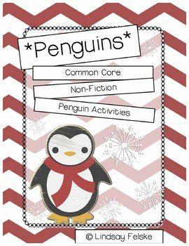 Penguin Unit- Informational Text  55 penguin pages!