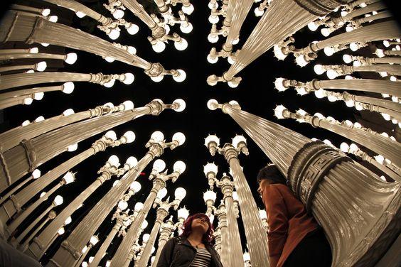 Urban Light At LACMA ~ Photo by...Jonathan Alcorn© June 2012