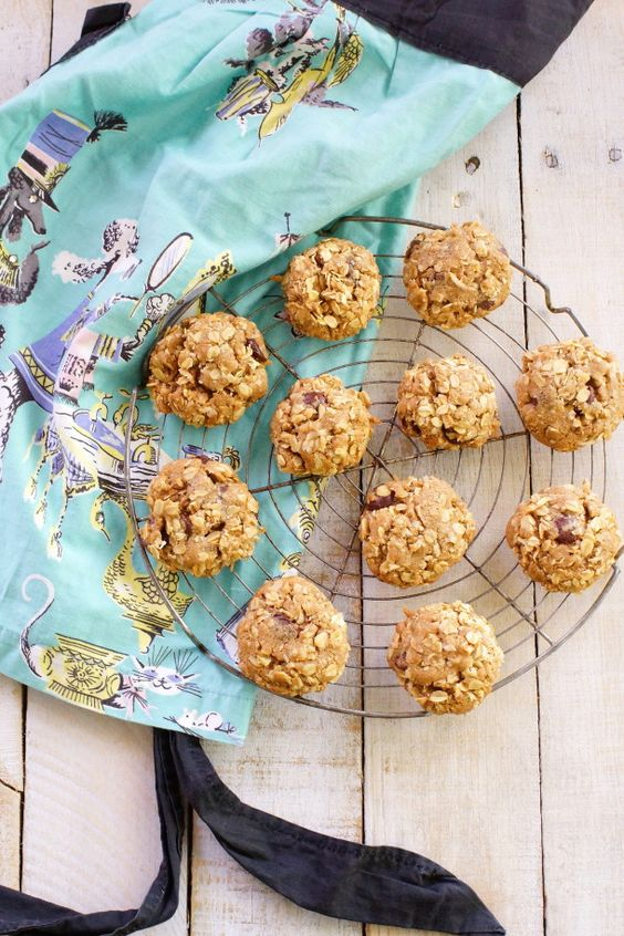 Double Coconut Chocolate Chip Oatmeal Cookies / Patty's Food