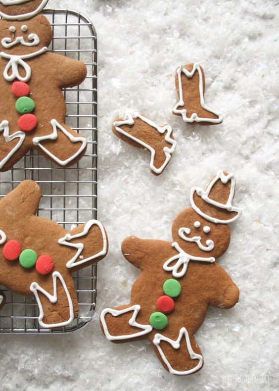 Zappos Recipe Gingerbread Cowboys | Butterlust Blog