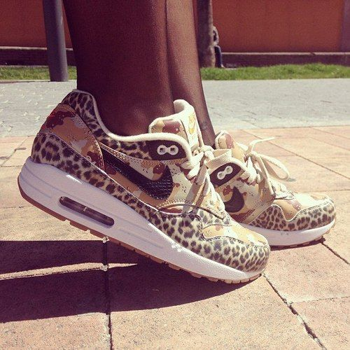 Nike Leopard Gym Shoes