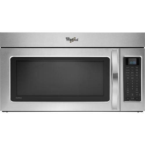 Whirlpool - 2.0 Cu. Ft. Over-the-Range Microwave - Stainless-Steel Model: WMH53520AS Best Buy $287.99