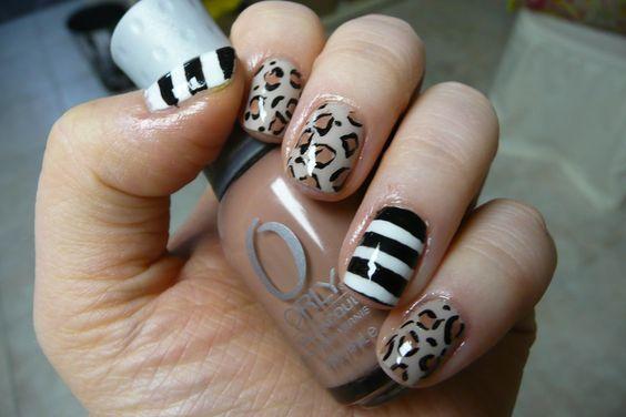 More Leopard Nail Art!