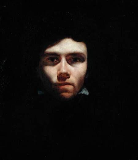Jean Louis Théodore Géricault - Portrait du jeune Eugene Delacroix
