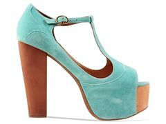 teal suede jc foxys
