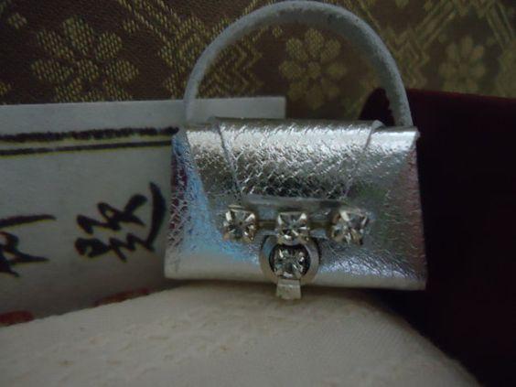 miniature handbag by MINISSU on Etsy, $4.99