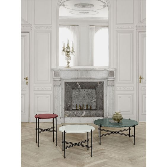 ts table xl pieds laiton plateau marbre gubi cette grande table - Grande Table