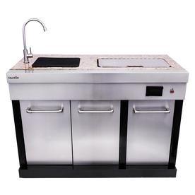 Char Broil Modular Outdoor Kitchen Medallion Modular Sink And Cooler Lowes Com Modular Outdoor Kitchens Outdoor Kitchen Cabinets Outdoor Kitchen Countertops