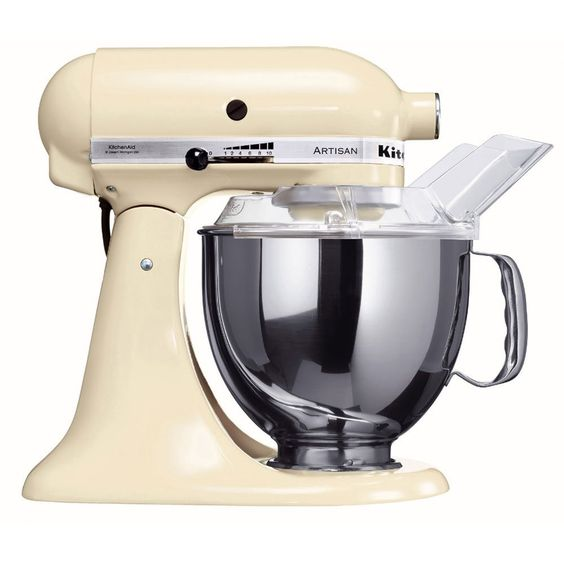 kitchenaid 5ksm150pseac robot da cucina colore crema importato da germania amazon