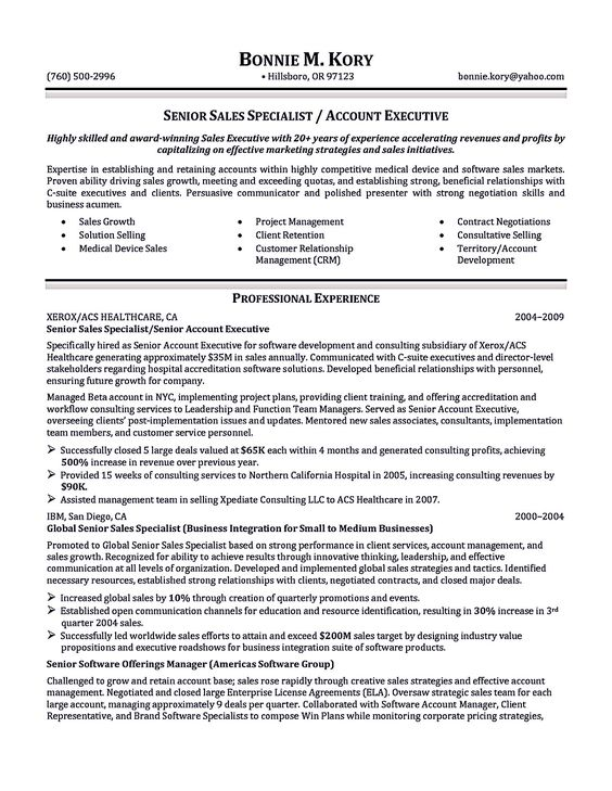 account executive resume sample  Account executive resume is like your weapon to get the job you want related to the account executive position. You must write the account executive r...