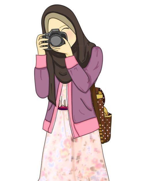 Love It Gambar Jilbab Turban Dan Kursus Hijab Download Tangan Vektor Yang Digambar Tangan Sukan Musim Luruh Percuma Download Charact Di 2020 Wanita Kartun Gambar