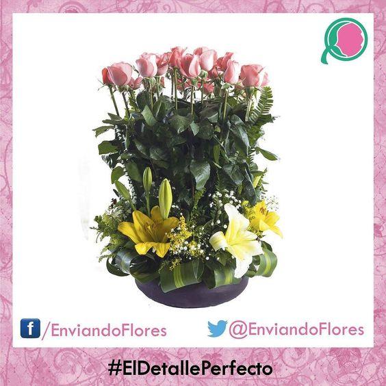 Las flores siempre enamoran. #EnviandoFlores #UnHermosoDetalle #LasFloresPerfectas #UnaOcasionEspecial  Visita nuestra página: http://ift.tt/28ZnP63