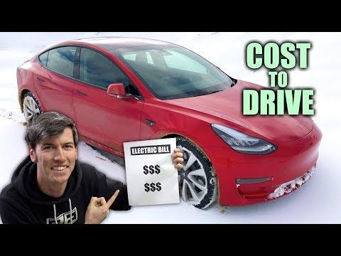 Why Electric Cars Are So Cheap To Drive My Tesla Model 3 Electric Bill Youtube Tesla Model Tesla Car Cost