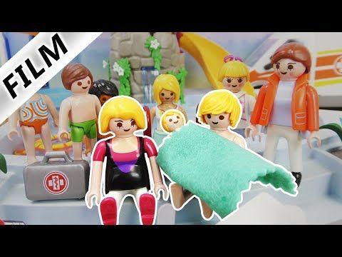 Playmobil Film Deutsch Hannahs Geburt Im Schwimmbad Schwanger Im Aquapark Serie Familie Vogel Youtube Filme Deutsch Filme Geburt