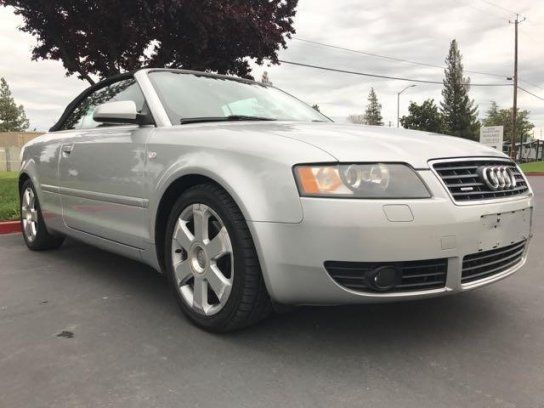 Convertible 2006 Audi A4 3 0 Quattro Cabriolet With 2 Door In Sacramento Ca 95826 Small Luxury Cars Audi Audi A4
