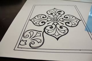 crafts lessons: faux stained glass tutorial - crafts ideas - crafts for kids