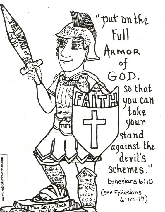 put god first coloring pages - photo#22