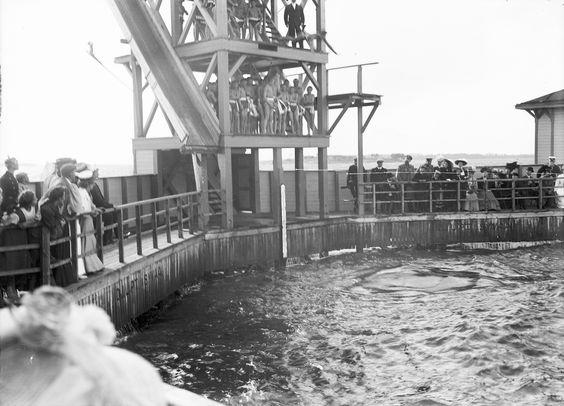 Swimtower in Merihaka, Helsinki ca 1900 | Flickr - Photo Sharing!