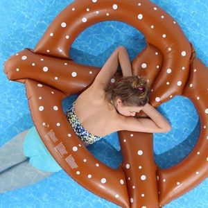 Pretzel Pool Float