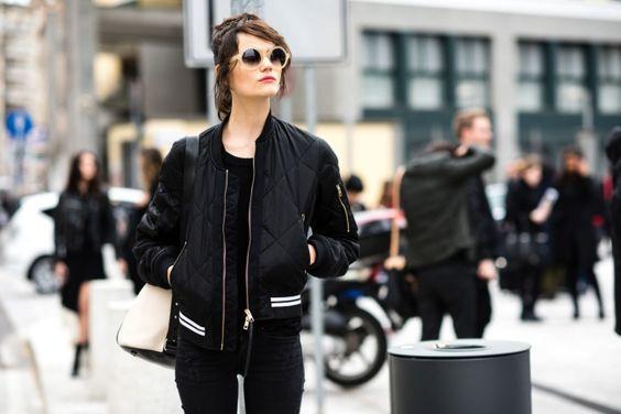 Street style from Milan fashion week autumn/winter '16/'17 - Vogue Australia