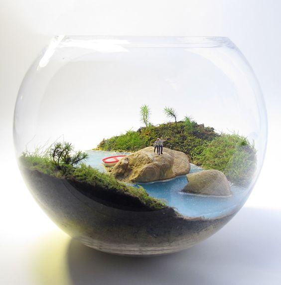 petite green we create miniature worlds terrarium. Black Bedroom Furniture Sets. Home Design Ideas