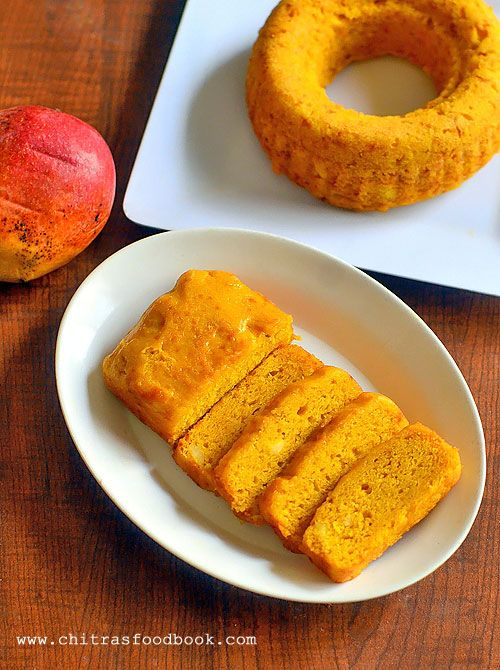 Eggless Vegan Mango Cake Recipe With Mango Pulp Recipe Food Cake Recipes Food Recipes