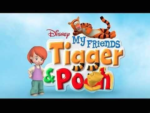 My Friends Tigger Pooh Theme Song Fast Tigger And Pooh Disney Junior Tigger