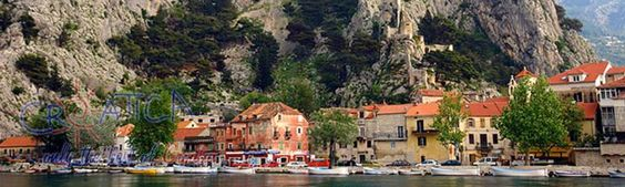 Omiš (pronounced [ɔ̌miːʃ], Italian: Almissa) is a town and port in the Dalmatia region of Croatia, and is a municipality in the Split-Dalmatia County.  Its location is where the emerald-green Cetina River[1] meets the Adriatic Sea (Croatian: Jadransko More). The Omiš Riviera stretches for twenty kilometers (12 miles) along a coast of exceptional beauty, with many perfect pebble, sandy beaches, bays, steep cliffs and a crystal clear sea.   #croatia #omiš #cetina